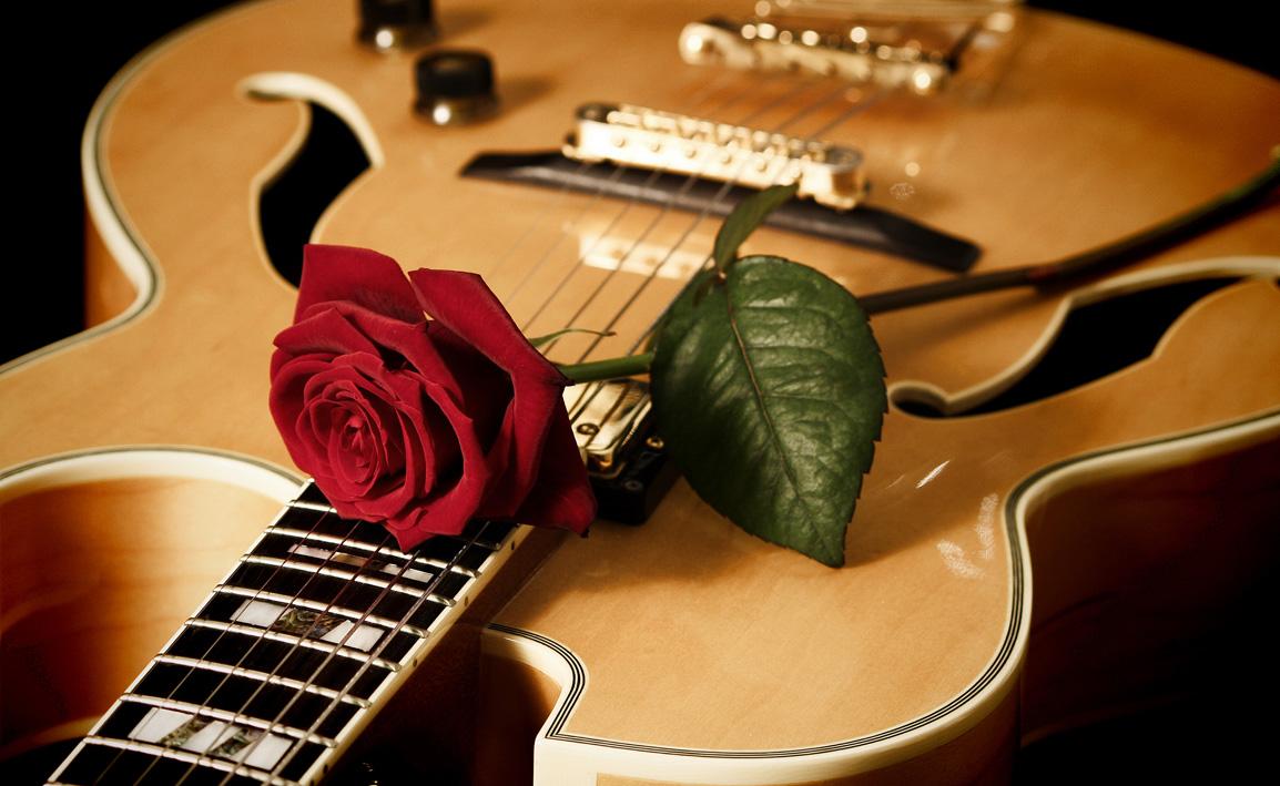 Открытки для мужчины с днем рождения с гитарой